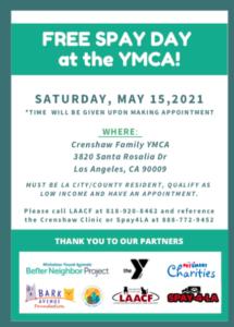 SpayDay_YMCA